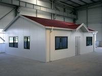 Prefabricated commercial light frame house