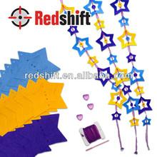 OEM Art & Craft kit girl toy Design your felt star curtain