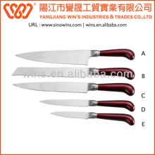 Color Sprayed Handle Royalty line Knife Set