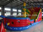 HL-121 Summer Best Choose Children Pirate Ship Jumping Castle