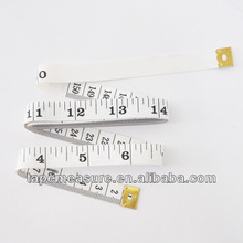 1.5m/60inch soft sensor made to measure tailors heavy duty strong tough line ruler body millimeter measurements with Your Logo