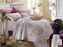 100% Tencel Printed Bedding Sets/Hotel Linen/Bed Sheet Fabric
