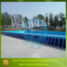 Rectangular metal frame swimming pool/swimming pool products