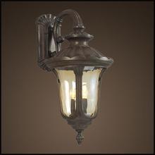 Antique brass design outdoor LED wall light (HS2004-DN-XL)