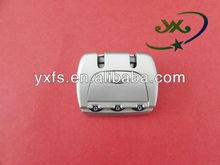 Yixiang good quality Combination Small Luggage Travel Bag Lock Padlock