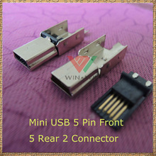 High Value V3 2 pcs one set male a type usb connector