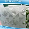 Lunettes 3D de conception Film autocollant pour la décoration et la vie privée 1.22 x 50 M
