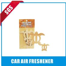 orange pure paper air freshener/car air freshener for promotion quick deodorant