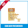 orange pure paper air freshener/car air freshener for promotion quick deodorant