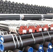 OD205mm*WT15mm ASTM A529 W3 NF EN S275JR structural steel pipes