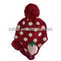 livre da malha padrão para hat earflaps 2014 doce pom pom crochet adulto earflap chapéu chapéu earflap crochet padrão