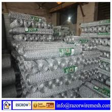 Anping galvanized/PVCcoated hexagonal mesh/chicken mesh(manufactory)