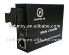 Chuang Yuan fast Ethernet fiber converter,10/100Mbps Media Converter