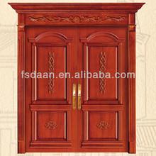 Japanese office style double swing wooden door