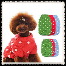 Blank red pet coat, pet apparel for winter, pet snow clothes