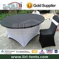 de alta calidad de gran plegable mesas redondas para la restauración y eventos