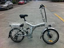 20inch classic aluminum folding e bike