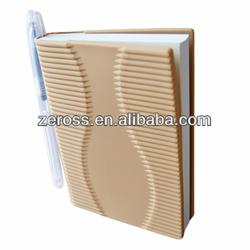 creative square blocks silicone book cover