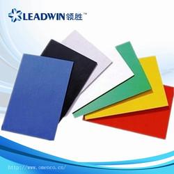 Leadwin High Quality pvc sheets black