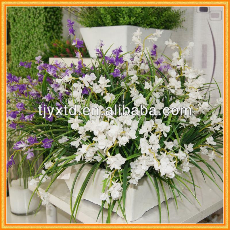 Çiçekler yapay çiçekler satılık koyu mavi yapay çiçekler