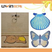 non skid pvc foam animal shape bath mat printed plastic eco bath mats