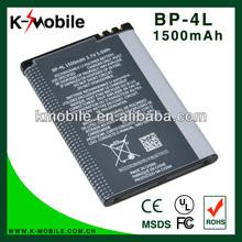 Orignal cell phone battery BP 4L BP-4L battery for Nokia E6 E6-00 E61i E63