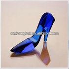 beautiful fancy latest Crystal handicraft shoes