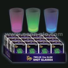 12oz plastic glow cup food grade