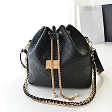 2014 Trandy Summer Designer Buket bag Embossed Messenger bag handbag for women Mixed order