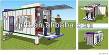 Mobile container show room/cafe shop/house/home/office for sale