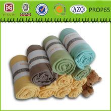 2014 good quality polar bear fleece blanket fabric