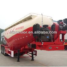 eixo 3 40 toneladas usado de cimento a granel caminhão tanque