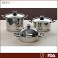 couvercle dôme en acier inoxydable de cuisson de nouveaux produits