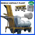 mhb20 móvil de asfalto planta de mezcla de tph 20