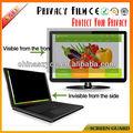 Pet material anti- peek protetor de tela para computador portátil