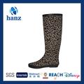 largo caliente venta de goma de zapatos de las señoras caballo botas de equitación para las mujeres