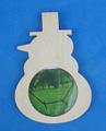 Baratos pequenas 2014 novo produto inacabado para decorativa eco- friendly pendurado imagem molduras de acrílico/pvc/silicone disponíveis