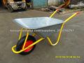 Nombres de herramientas agrícolas carretilla tractor de granja neumáticos carretilla de rueda WB6404H