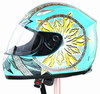 Rich people high price full face motorcycle helmet 603