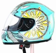 Rich people high price full face motorcycle helmet 603