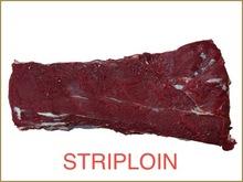 FROZEN BUFFALO/BEEF STRIPLOIN
