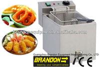 Brandon stainless steel KFC chicken fryer counter top fryer