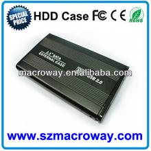 Standard usb 2.0 server usb 2.5 sata hdd case