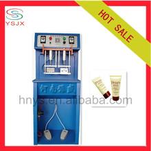 Cosmetic manual tube heat sealer