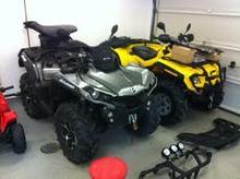 Outlander 800R X mr Mud Race Rotax 4x4 Fox Snorkel Warn Gorilla EFI