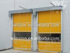 Industrial roll up door/PVC flexible door Roller Design