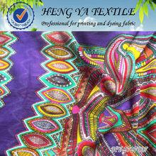 High quality 100% spun rayon floral print fabrics rayones nuevo leon