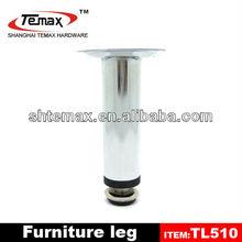2014 unique chrome decorative metal furniture legs