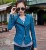 China factory wholesale ladies fashion leather jackets korea
