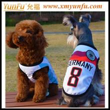 0-10 Number Pet Dog cloth